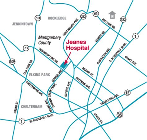 printable step by step driving directions location information temple university health system