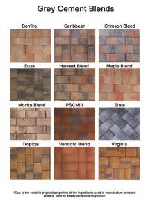 colors of brick brick paver colors install pavers brick patio sebastian