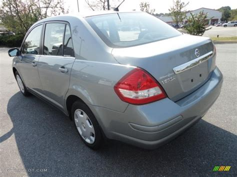 grey nissan versa 2009 magnetic gray nissan versa 1 8 s sedan 37033235