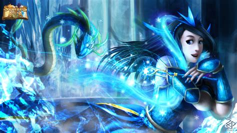 water god glacia water god by za leep per on deviantart