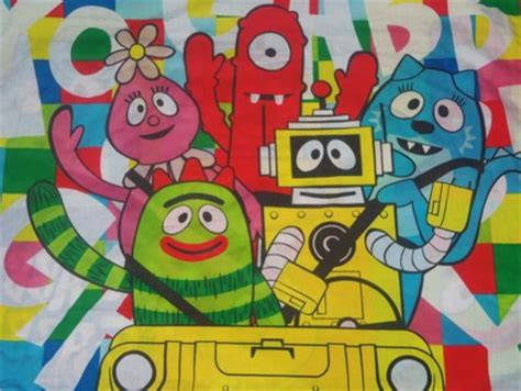 yo gabba gabba bed set free yo gabba gabba bed set 6 pieces think get