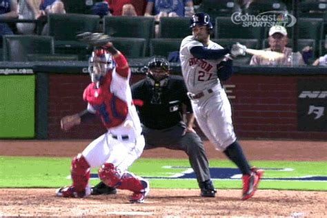 jump swing mlb hits king jose altuve introduces the jump swing gif