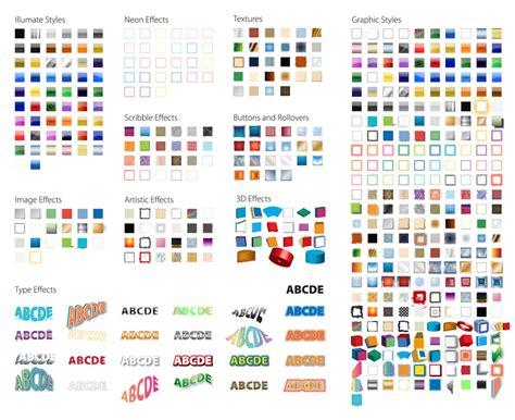 Style Graphic 4 illustrator graphic styles digital poster adobe
