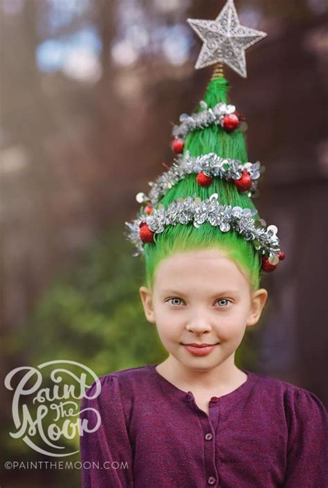 christmas tree hairstyle for girls tree hairstyle fade haircut