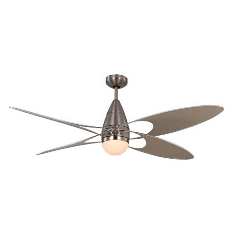 fan in monte carlo butterfly 54 in indoor outdoor brushed steel