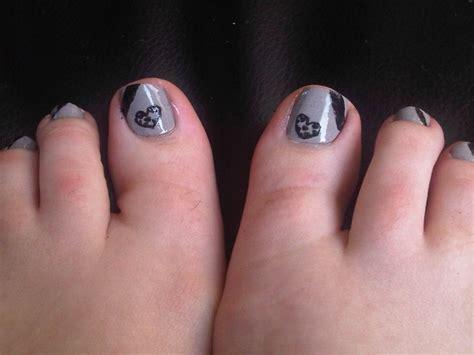 Stewart Gets Nails Toes Did by Matching Toe Nails Nails I Did Nails Toe