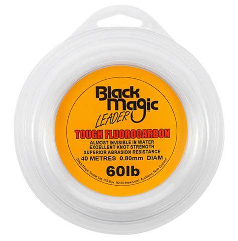 Leader Mustad Fluoro Carbon 55 Lb black magic tough fluorocarbon leader