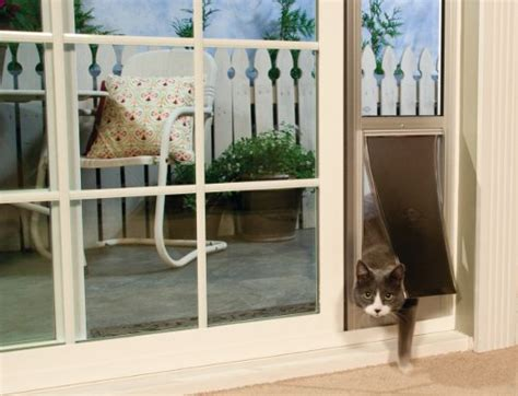 Sliding Screen Door With Dog Door Built In Dog Doors Petsafe Pet Doors For Dogs Amp Cats