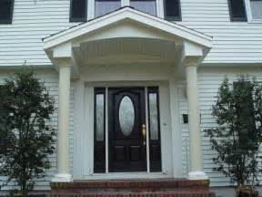 entryway overhang front entry portico overhang traditional exterior