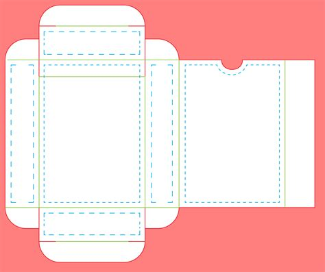 Box Card Template Templates Data Templates For Cards