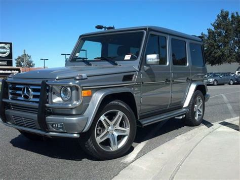 how petrol cars work 2011 mercedes benz g class transmission control buy used 2011 mercedes benz g55 amg base sport utility 4 door 5 5l in thousand oaks california