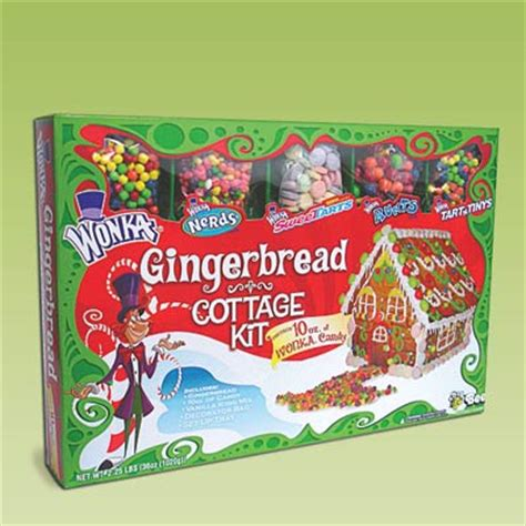 gingerbread house making kit willy wonka candy gingerbread house 17 easy gingerbread house kits this old house
