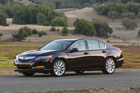 2017 acura rlx sport hybrid product performance overview