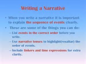 How Do I Write A Narrative Essay by Writing A Narrative