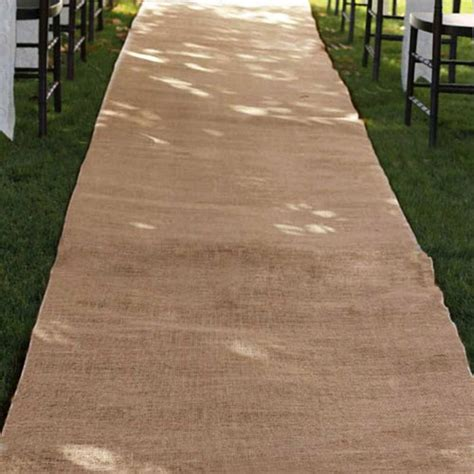 Wedding Aisle Runner by Burlap Wedding Aisle Runner 36 Inch X 100 Rustic