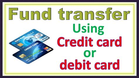 how bank make money from credit card send money to bank account using debit card and credit