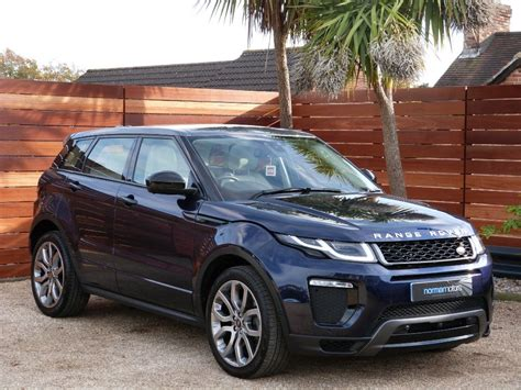 land rover evoque blue used loire blue land rover range rover evoque for sale