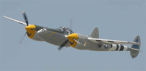 P 38 Lighting by Warbird Alley Lockheed P 38 Lightning