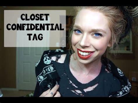 Closet Confidential by Closet Confidential Tag Grav3yardgirl
