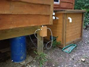diy composting septic for flush toilet small cabin forum
