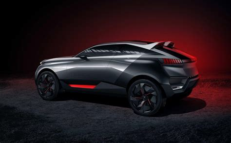 peugeot reveals 500 horsepower crossover concept