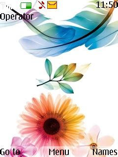 mobile themes beautiful download beautiful flowers theme nokia theme mobile toones