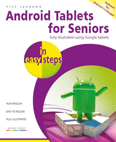 java in easy steps covers java 9 books in easy steps android tablets for seniors in easy steps