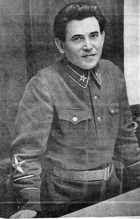 N.I. Yezhov - successor to Yagoda and predecessor of Beria