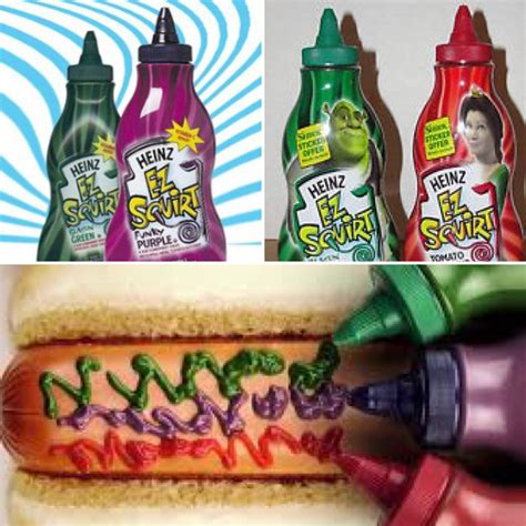 colored ketchup does anyone remember colored shrek ketchup was the