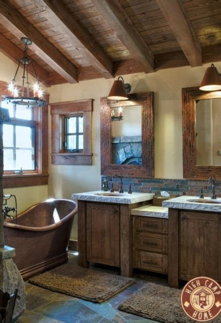 Rustic Bathroom Design by 44 Rustic Barn Bathroom Design Ideas Digsdigs