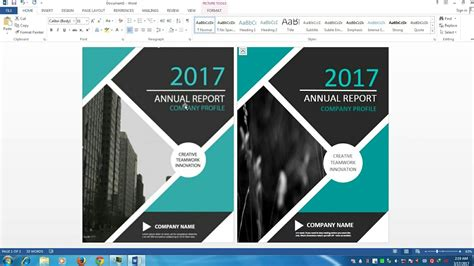 design cover ms word awesome cover page designing in ms word 2013 youtube