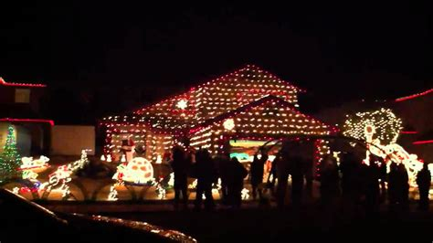 really nice christmas light house in murrieta ca youtube