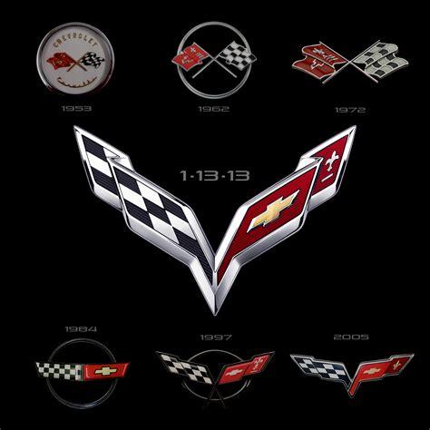vintage corvette logo image gallery 1968 corvette emblem