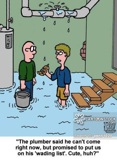 Plumbing Humour by Wader And Comics Pictures From Cartoonstock