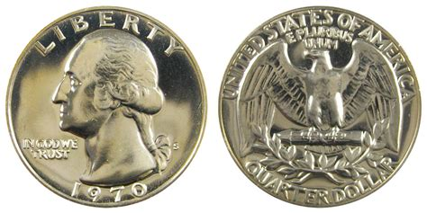 1970 s washington quarters clad composition value and prices