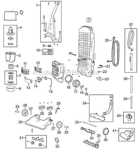 bissell carpet cleaner parts diagram bissell 6596 parts list and diagram ereplacementparts