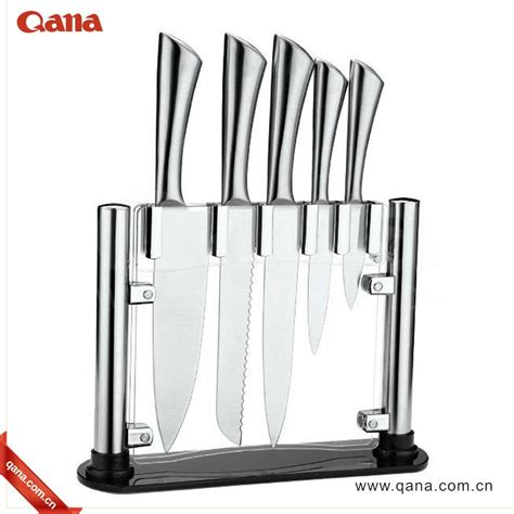 6pcs kitchen knife set stainless steel kitchen chef knife amazon top selling 6pcs stainless steel kitchen knife set
