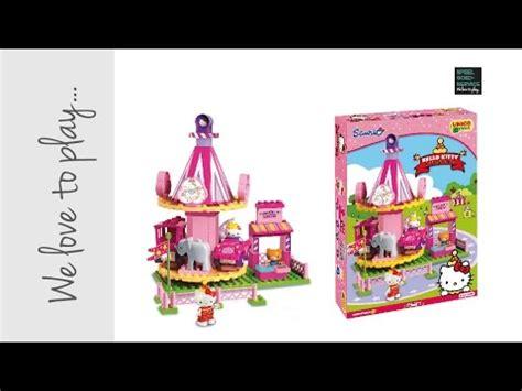 speelgoed uitpakken speelgoed uitpakken en opbouwen unico hello kitty