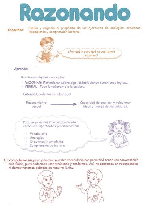 pdf libro de texto reposteria sana para ser feliz para leer ahora razonamiento verbal razonamiento verbal para tercer grado de primaria 3 186 pdf tercer grado