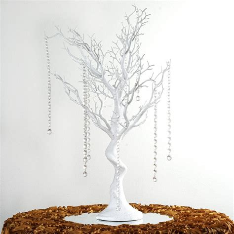 30 Quot Vogue Manzanita Centerpiece Tree White Efavormart White Manzanita Tree Centerpiece
