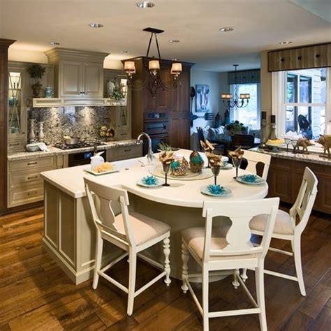 kitchen island with table combination 25 best ideas about island table on pinterest