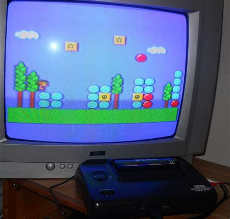 game console mod 1 6 4 original sega master system ii 2 console with av mod