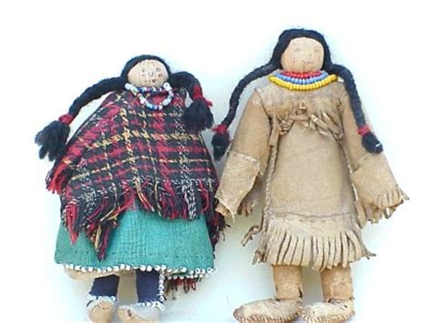 why do white kids have corn husk hair cuts native american indian iroquois beaded corn husk dolls boy