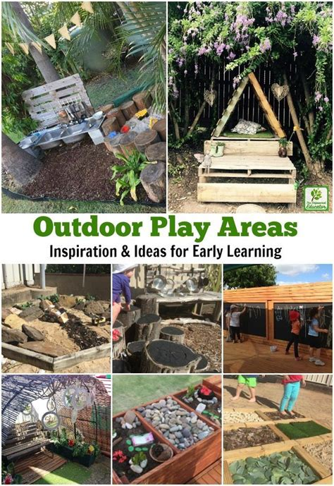 ideas  childrens outdoor play areas  activities