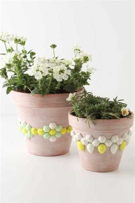 flower pots designs diy creative ways to decorate flower pots