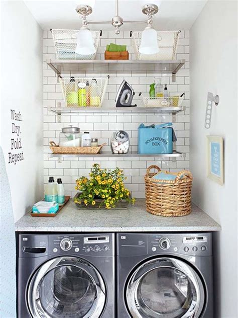 Small Laundry Room Storage Ideas 60 Amazingly Inspiring Small Laundry Room Design Ideas