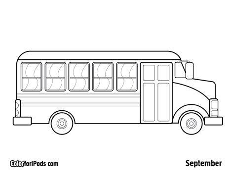 free coloring page of school bus free printable school bus coloring pages coloring pages