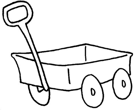 Wagon Coloring Pages kidprintables coloring pages