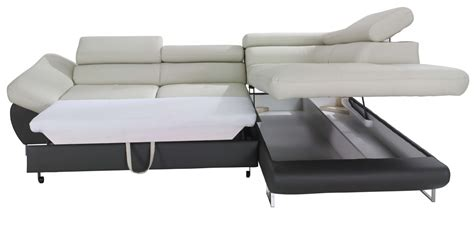sectional sofa sleeper with storage fabio sectional sofa sleeper with storage creative furniture