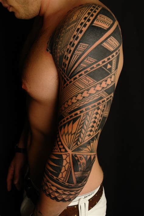 tribal 3 4 sleeve tattoos 1000 images about rat ta ta tatz on